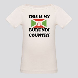 This Is My Burundi Country Organic Baby T-Shirt