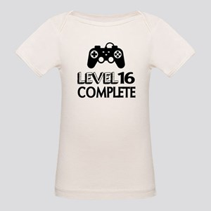 Level 16 Complete Birthday De Organic Baby T-Shirt
