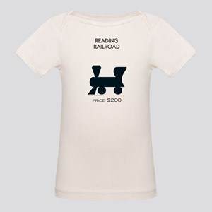 Monopoly - Reading Railroad Organic Baby T-Shirt