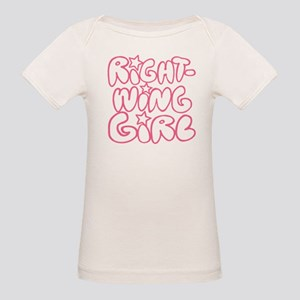 Right-Wing Girl Organic Baby T-Shirt