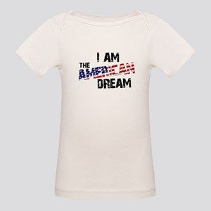 I Am The American Dream Organic Baby T-Shirt
