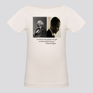Douglass-Obama Organic Baby T-Shirt