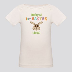 54837057 Babies 1st Easter Organic Baby T-Shirts - CafePress