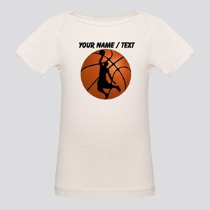 Custom Basketball Dunk Silhouette T-Shirt