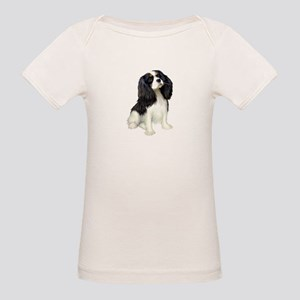 Cavalier (tri color) Organic Baby T-Shirt