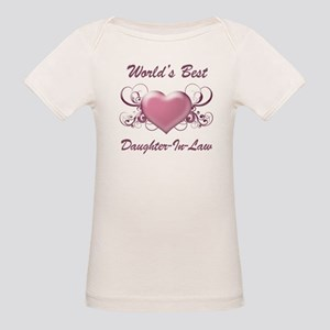 807456bb7 I Wear Pink For My Mother In Law Organic Baby T-Shirts - CafePress
