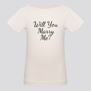abb82bc4 Marry Me Organic Baby T-Shirts - CafePress