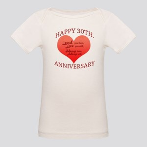 Happy 30th. Anniversary T-Shirt