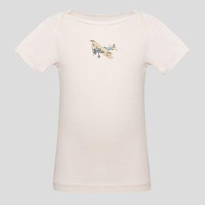 Stearman PT-17 Bi-Plane Organic Baby T-Shirt