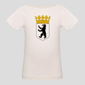 Berlin Coat of Arms Organic Baby T-Shirt