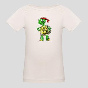 Ninja Turtle Tortoise Organic Baby T-Shirt