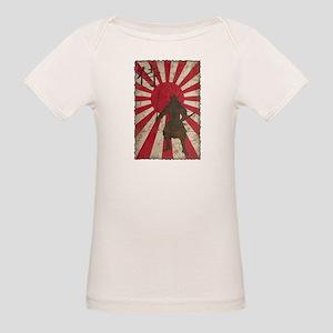 Vintage Samurai Organic Baby T-Shirt