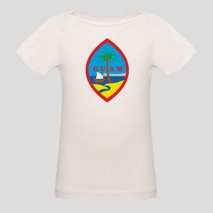 Guam Coat Of Arms Organic Baby T-Shirt