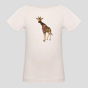 The Giraffe Organic Baby T-Shirt