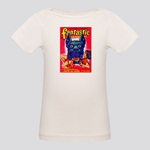 Fantastic Big Dog Cover Art Organic Baby T-Shirt