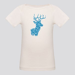 Blue Camo Deer T-Shirt