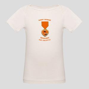 Agent Orange Organic Baby T-Shirt