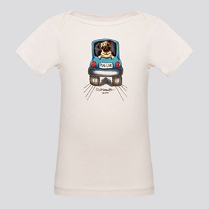 Pug Lover Car Organic Baby T-Shirt