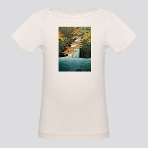 Senju Waterfall, Akame - Kawase Hasui T-Shirt