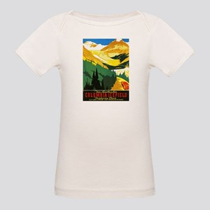 Canada Travel Poster 7 Organic Baby T-Shirt