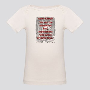 No No The Adventures First - L Carroll T-Shirt