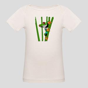 Cute frog on grass T-Shirt