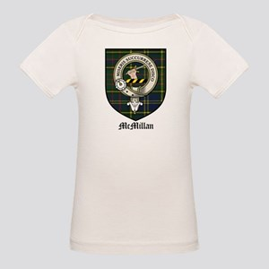 McMillan Clan Crest Tartan Organic Baby T-Shirt