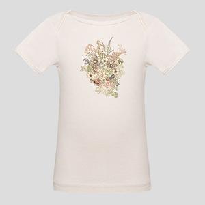 Wildflower Bouquet Organic Baby T-Shirt
