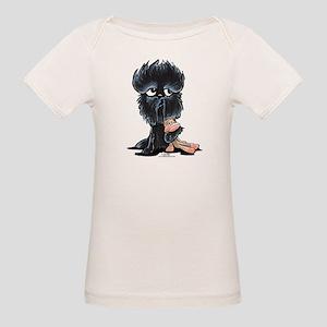 Affenpinscher Pattern Organic Baby T-Shirt