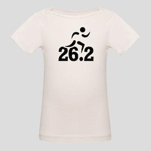 26.2 miles marathon Organic Baby T-Shirt