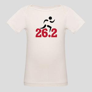 26.2 miles marathon runner Organic Baby T-Shirt