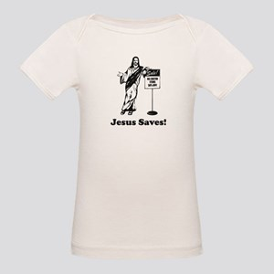 Jesus Saves! Women's Cap Sleeve T-Shirt