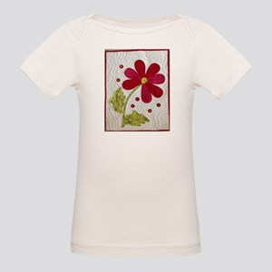 Give Yourself Flowers Today Organic Baby T-Shirt