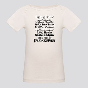 Big Rig Drivin' Organic Baby T-Shirt