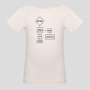 Prayer Flow Chart Organic Baby T-Shirt
