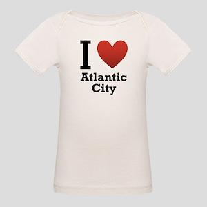 I Love Atlantic City Organic Baby T-Shirt