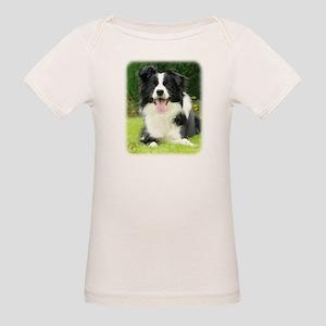 Border Collie 9A014D-14 Organic Baby T-Shirt