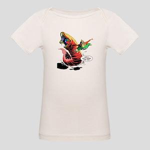 Crypto-Man & Death Worm Organic Baby T-Shirt