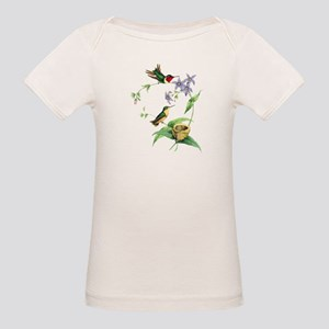 Hummingbirds Organic Baby T-Shirt