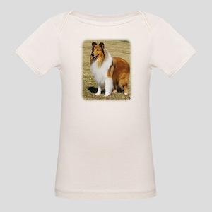 Collie Rough AF036D-028 Organic Baby T-Shirt