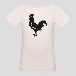 Big Black Chicken Organic Baby T-Shirt
