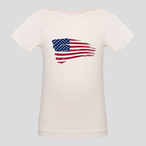 Tattered US Flag T-Shirt