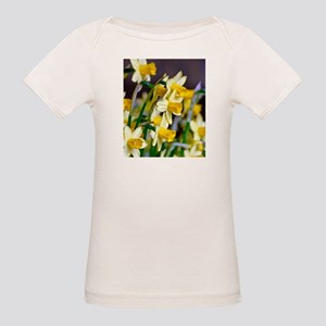 Yellow Daffodils Organic Baby T-Shirt