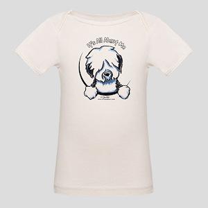 Old English Sheepdog IAAM Organic Baby T-Shirt