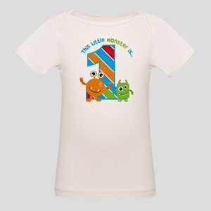 Little Monster 1st Birthday T-Shirt