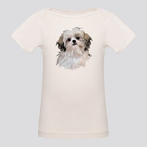 Shih Tzu Lover Organic Baby T-Shirt