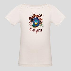 Butterfly Guam Organic Baby T-Shirt