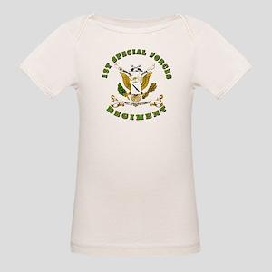 SOF - 1st SF Regiment Organic Baby T-Shirt