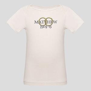 Matthew 19:4-6 Organic Baby T-Shirt