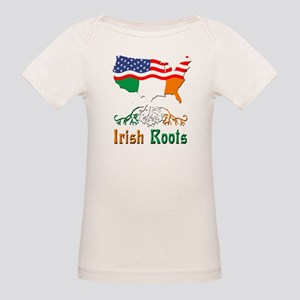 American Irish Roots Organic Baby T-Shirt